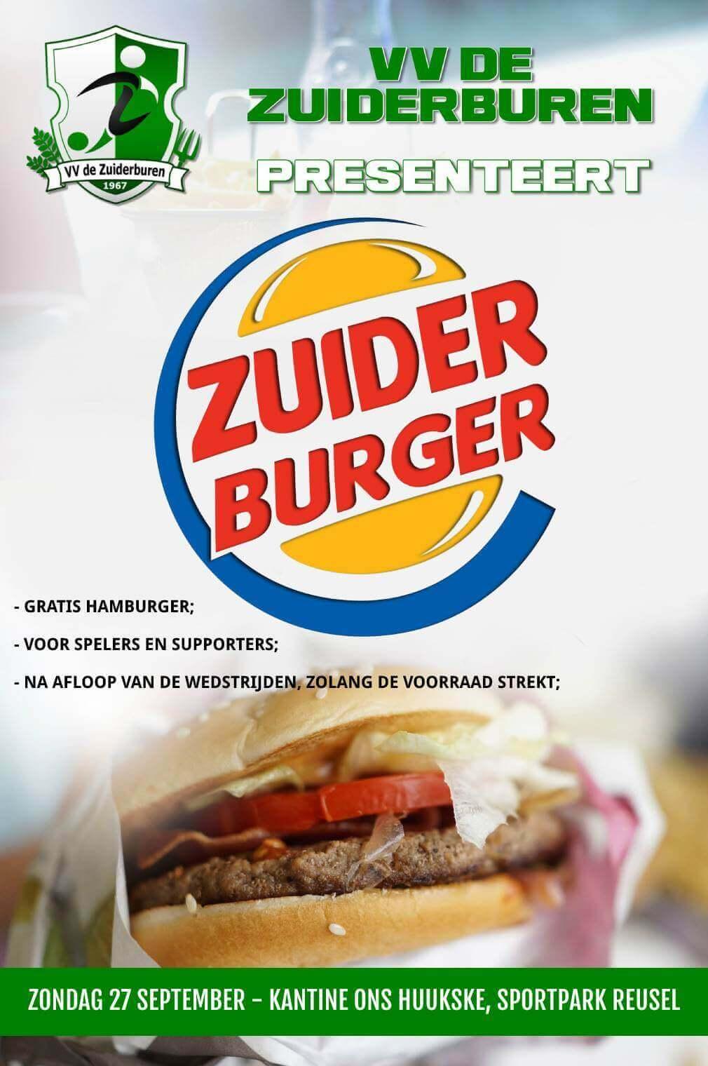 Affiche voor Zuiderburger