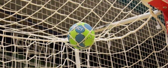 zaalvoetbal doelpunt