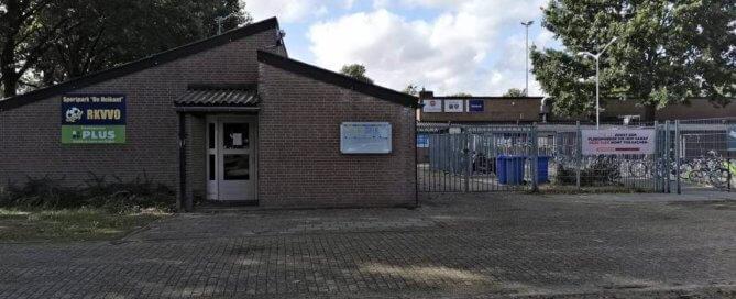 Sportpark de Heikant is het stijdtoneel voor RKVVO 7 tegen Zuiderburen 1